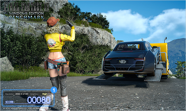 Final Fantasy XV Windows Edition's benchmark revealed