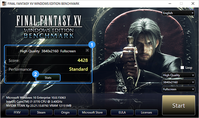 Final Fantasy XV Windows Edition Preorder Bonuses Detailed, Benchmark Tool Released